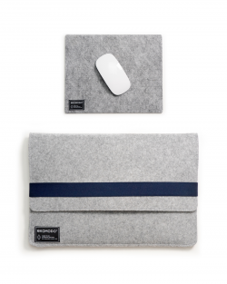 Set EKOLAPTOP - Navy blue